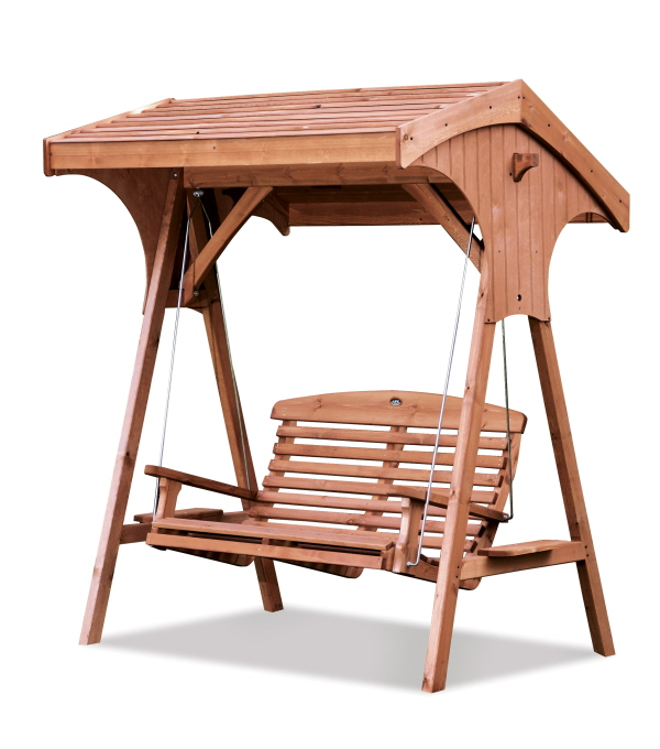 Roofed Apex Swing Seat