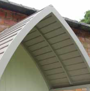 arbour roof detail
