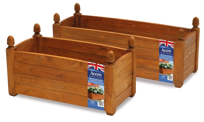 solid wood trough beech stain