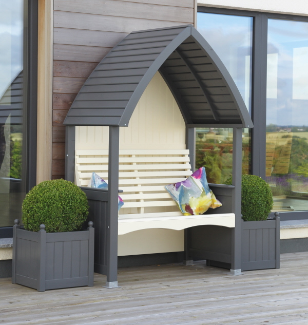 Afk Marketing Cottage Arbour Solid Wood Garden Furniture