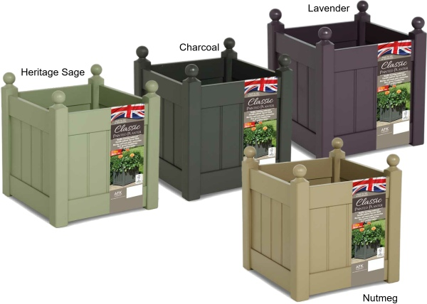 afk classic painted planters