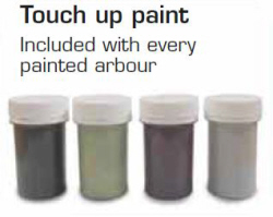 touch up paint included
