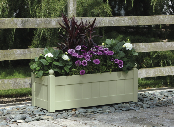 classic trough painted afk garden furniture wood