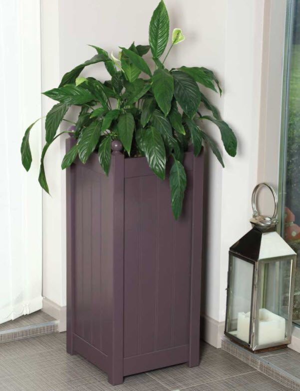 classic tall planter painted afk