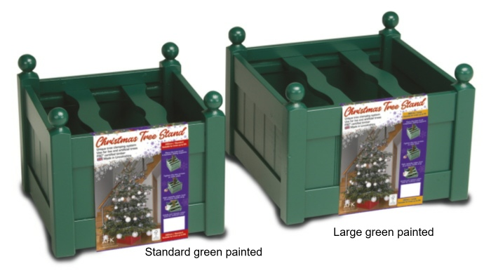 xmas tree stands green